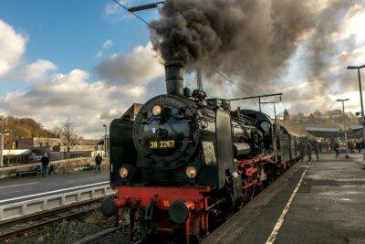 Obraz pociąg parowy