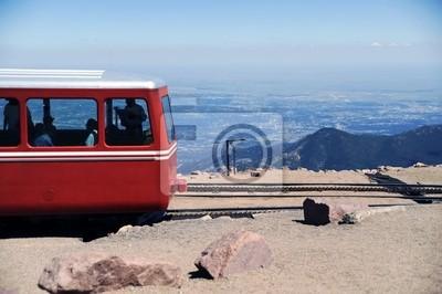 Pociąg Pikes Peak Cog