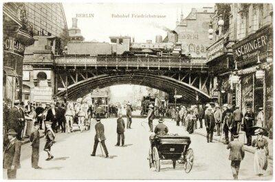 Obraz Pocztówka Friedrichstrasse