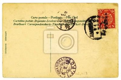 Pocztówka Kontekst rocznika Chiński