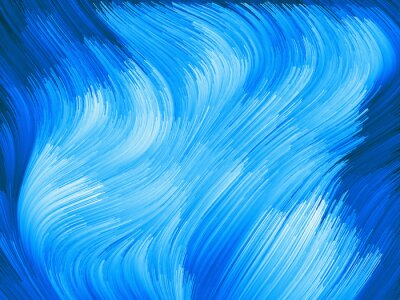 Obraz Pod cyfrowa kolorowa