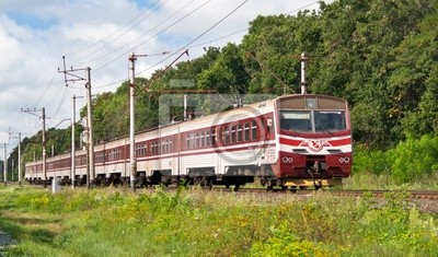 Podmiejski pociąg elektryczny
