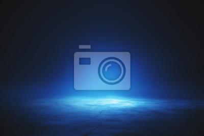 Obraz Podświetlana niebieska tapeta