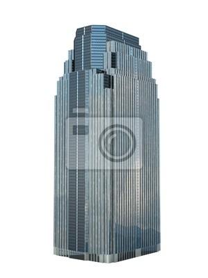 Obraz pojedynczy wieżowiec