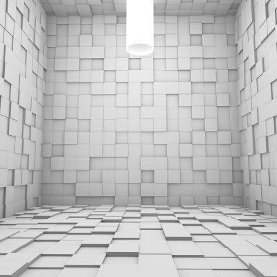 Obraz Pokój Cube - 3D Render