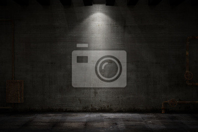 Obraz Pokój grunge