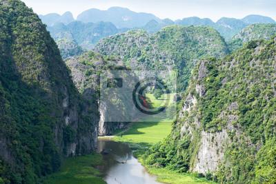 pól ryżowych w Wietnamie