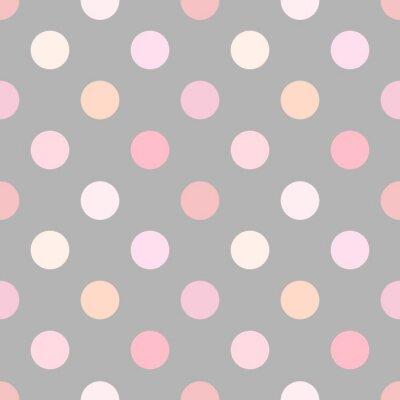 Obraz Polka dot pink