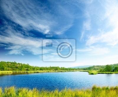 północ górskie jezioro