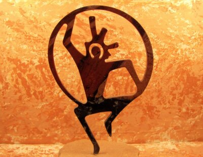 Obraz południowo zachodniej nadzieję DIETY tancerz