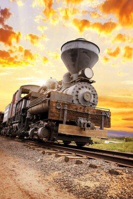 Obraz południowy zachód duch pociąg