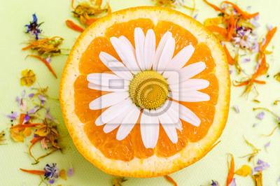 Obraz Pomarańczowy