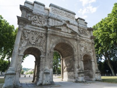 Obraz Pomarańczowy, Roman Arch