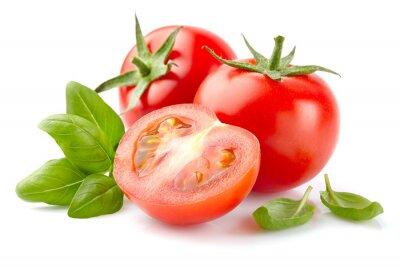 Obraz Pomidorowa z bazylią