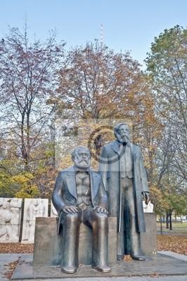 Pomnik Karola Marksa i Fryderyka Engelsa w Berlinie, Niemcy