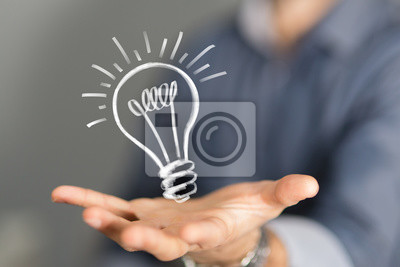 Obraz pomysł lampa