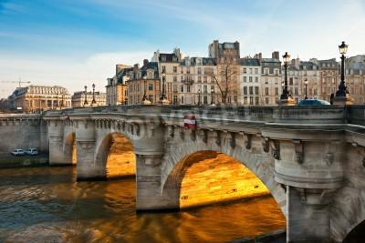 Obraz Pont neuf, Ile de la Cite, Paris - France
