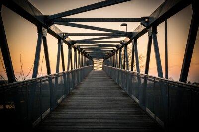 Obraz Ponte ciclabile