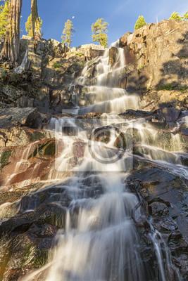 Poranne światło na Eagle Falls