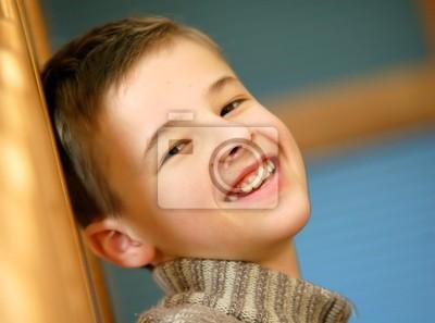 Portret młodego chłopca