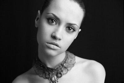 Obraz Portret piękna dziewczyna .