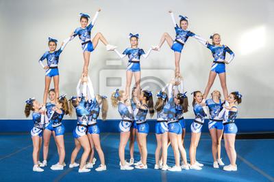 Obraz Portret piękne cheerleaderki