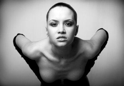 Obraz Portret piękno. sexy girl mody .