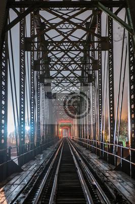Obraz Porzucony most kolejowy