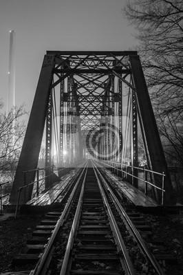 Porzucony most kolejowy B & W