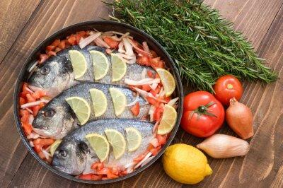 Obraz Potrawa z warzyw przed gotowaniem.