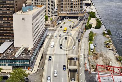 Powietrzny obrazek Miasto Nowy Jork, usa