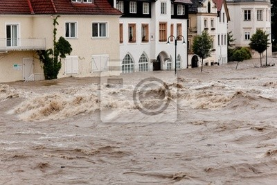 Powodzie i powodzie w Steyr, Austria