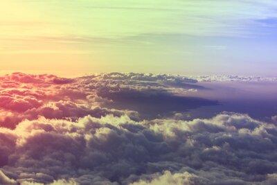 Obraz Powyższe chmury