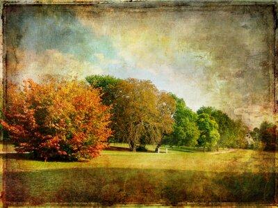 późna jesień - zdjęcie archiwalne