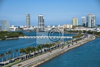 Pozostawiając Miami, Floryda