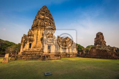 Prasat Hin Phimai, Phimai dziejowy park w Nakhon Ratchasima prowinci, Tajlandia.