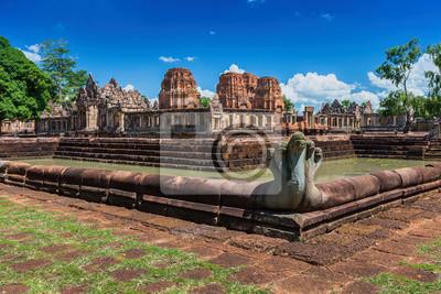 Prasat Muang Tam historyczny park, Buriram, Tajlandia