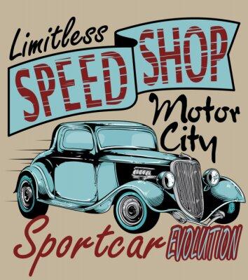 Obraz Prędkość shop