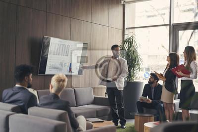Obraz Prezentacja biznesowa