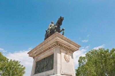 Prim monument in Barcelona, Spain