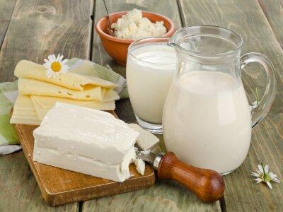 Obraz Produkty mleczne