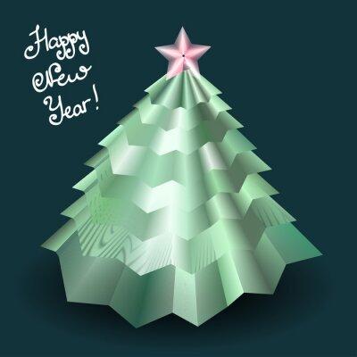 Projekt karty szczęśliwego nowego roku