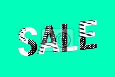 Projekt szablonu sprzedaż transparent, oferta specjalna duża sprzedaż. Koniec sezonu. Ilustracji wektorowych.