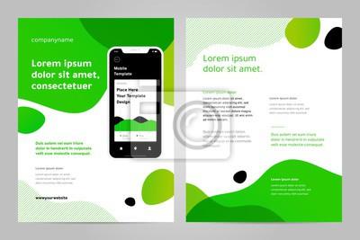 Projektowanie szablonu układu za pomocą aplikacji mobilnej