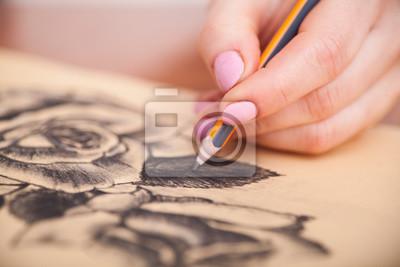 Obraz Przeznaczone do walki radioelektronicznej rysunku na biurko