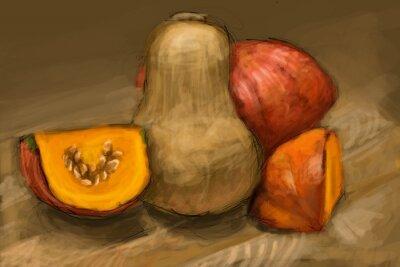 Obraz Pumpkins - obraz cyfrowy