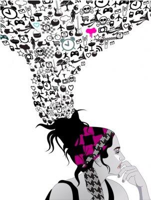 Obraz Punk girl