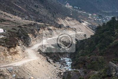 Punkt zerowy, droga w North Sikkim, Indie