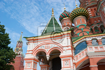 Punktów orientacyjnych w Moskwie