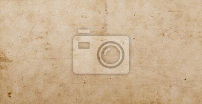 Obraz Pusty stary brudny papierowy tło i tekstura